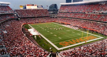 Cleveland Browns tickets at Cleveland Browns stadium!