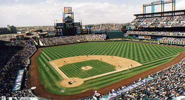Colorado Rockies tickets at Coors Field!