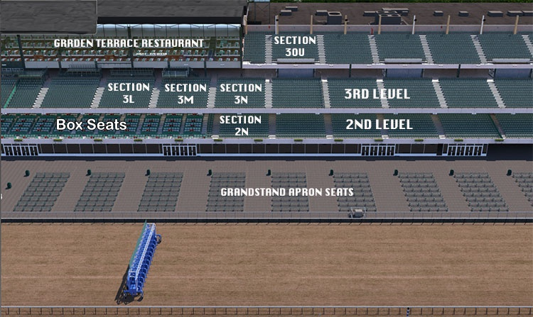 The Belmont Stakes Seating Guide Eseatscom
