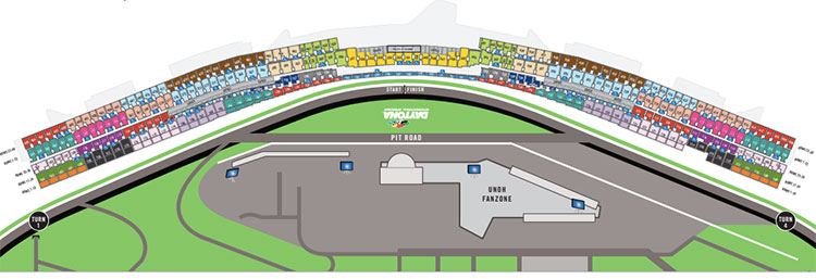 Daytona 500 Seating Guide