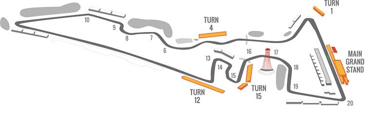 US Grand Prix Formula 1 Austin Seating Guide   eSeats.comeSeats.com