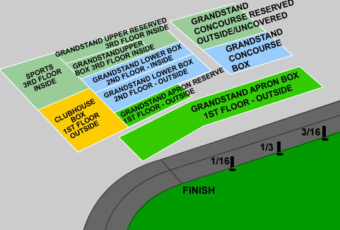 Preakness Stakes Seating Options