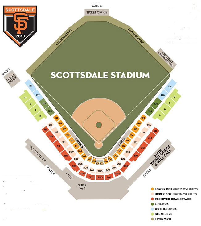 Scottsdale Stadium San Francisco Giants Spring Training