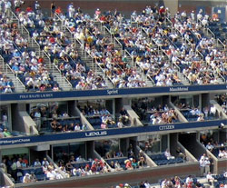Luxury Suite Seats Arthur Ashe Stadium