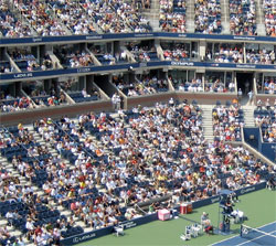 Loge Level Seats Arthur Ashe Stadium