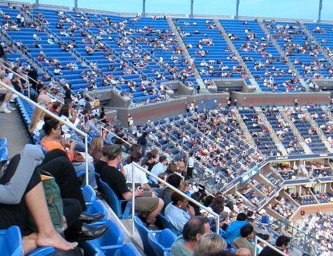 us open promenade seats